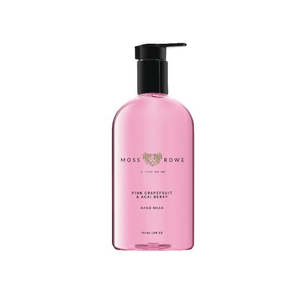 Moss and Rowe Pink Grapefruit and Acai Berry Hand Wash 400ml MRPGA400