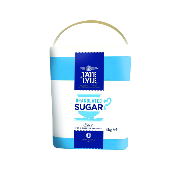 Sugar / Sweetener Tate and Lyle Granulated Sugar 3kg TS165