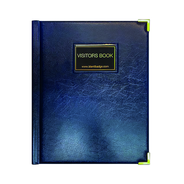 Unspecified Identibadge GDPR Visitor Book with Binder IBVB-GDPR