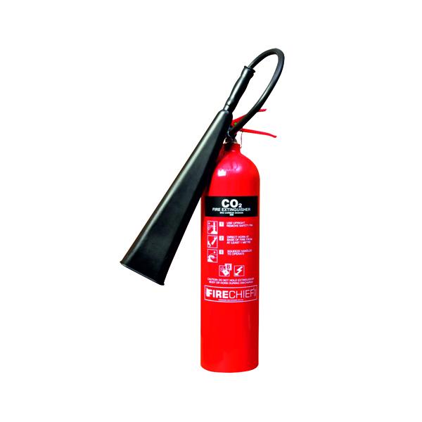 Co2 Spectrum Industrial Fire Extinguisher CO2 5kg 14358
