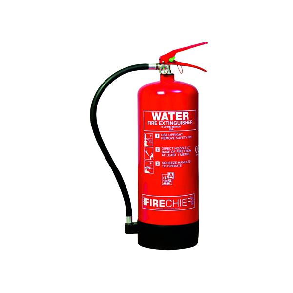 Water Spectrum Industrial Fire Extinguisher Water 6 Litre 14355