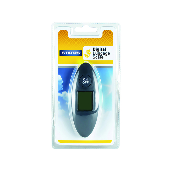 Postal Scales Status Compact Digital Luggage Scales (4 Pack) SDLSCALE1PK4
