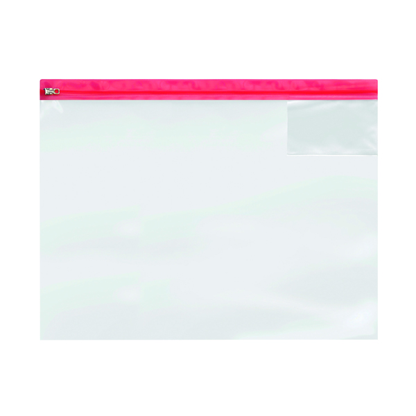 A4 BDS Zip Bag Heavy Duty A3 Assorted (5 Pack) 4713