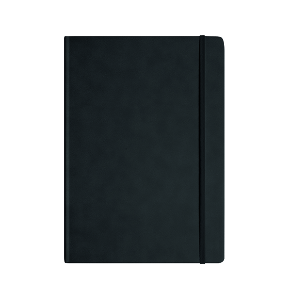 A6 Silvine Executive Notebook 160 Pages A4 Black 198BK