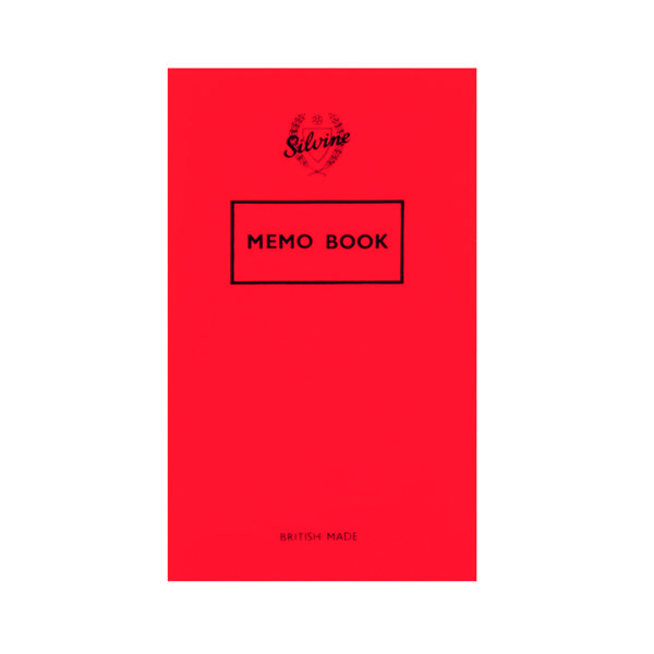 Ruled Silvine Feint Ruled Memo Book 72 Pages 159x95mm (24 Pack) 042F-T