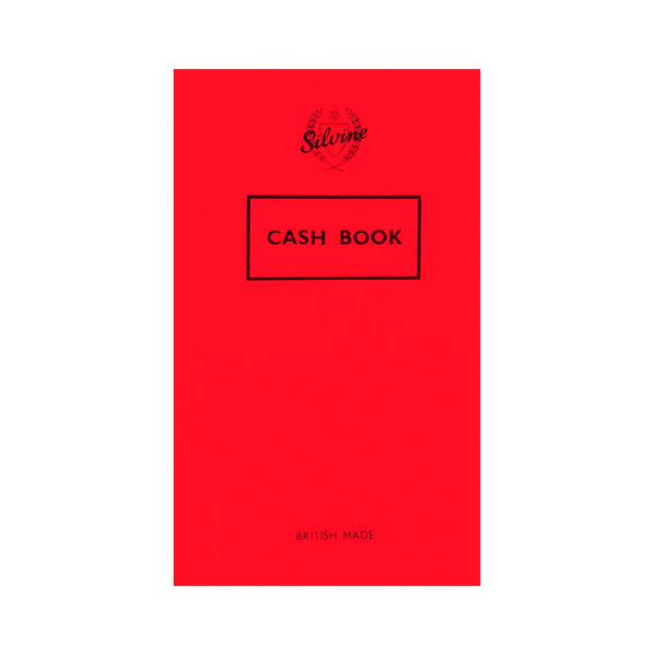 Silvine Plain Cash Book 72 Pages 159x95mm (24 Pack) 042C-T