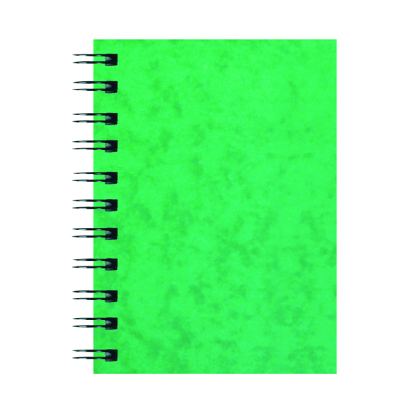 A6 Silvine Luxpad Hardback Wirebound Notebook 200 Pages A6 (12 Pack) SPA6