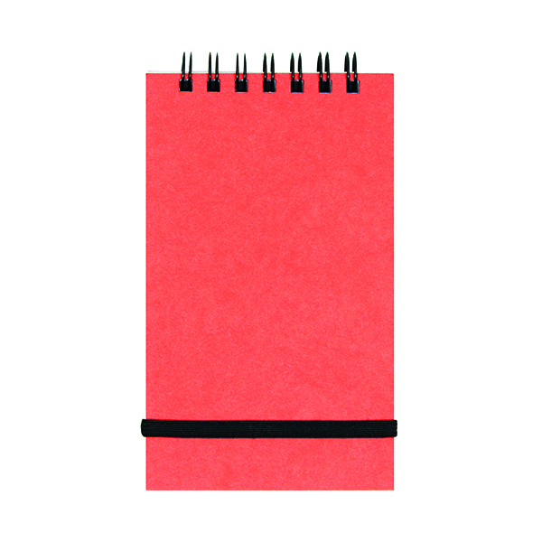 Other Silvine Elasticated Spiral Bound Pocket Notebook 192 Pages 76x127mm (12 Pack) 194