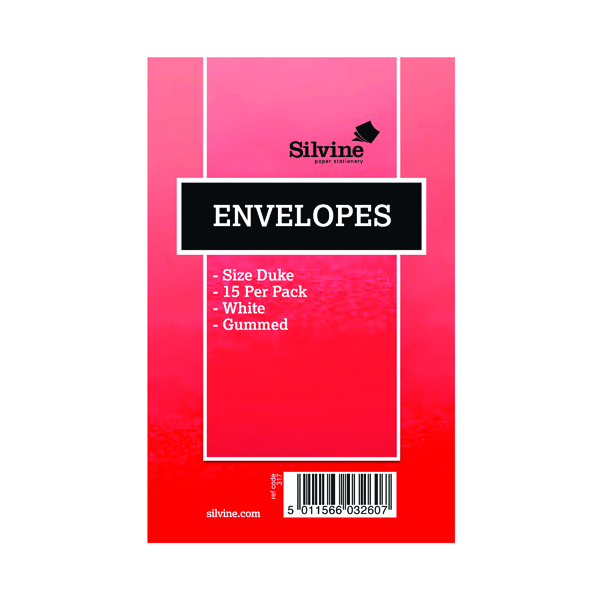 Silvine Duke Envelopes (36 Pack) 101-0174