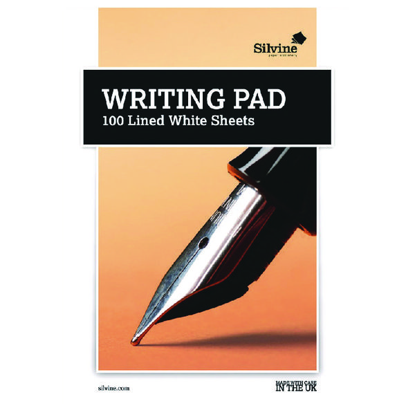 Plain Silvine Branded Writingpad (10 Pack) 1720
