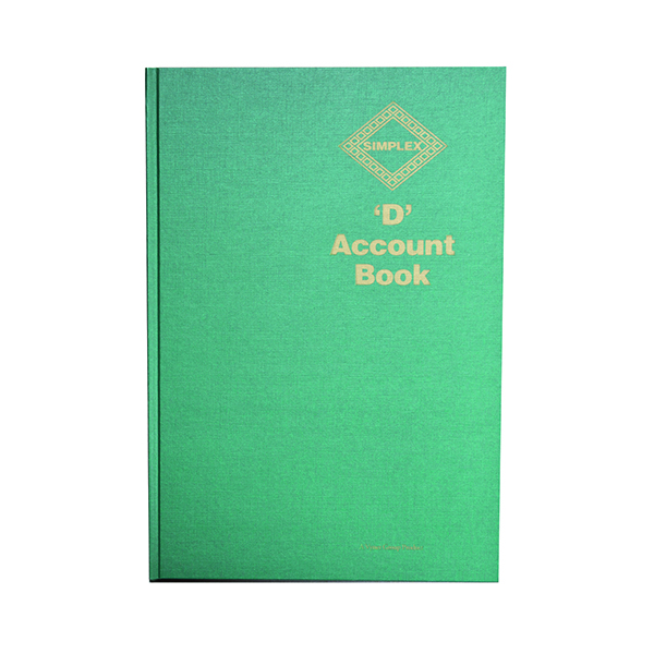 Unspecified Simplex D Accounts Book D