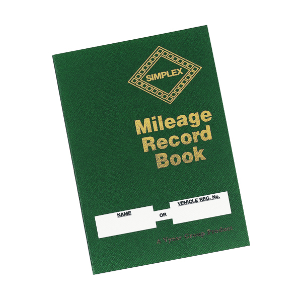 Unspecified Simplex Mileage Record Book MRB