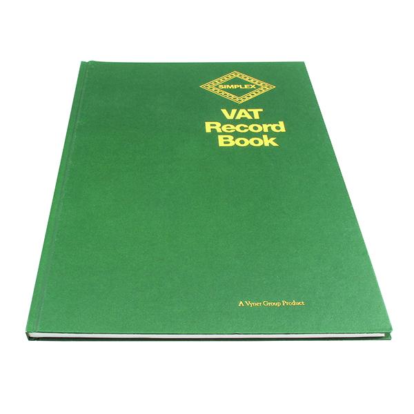 Unspecified Simplex VAT Records Book VAT
