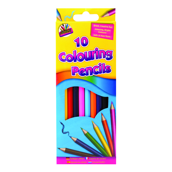 Coloured Artbox 10 Full Size Colour Pencils (12 Pack) 5120