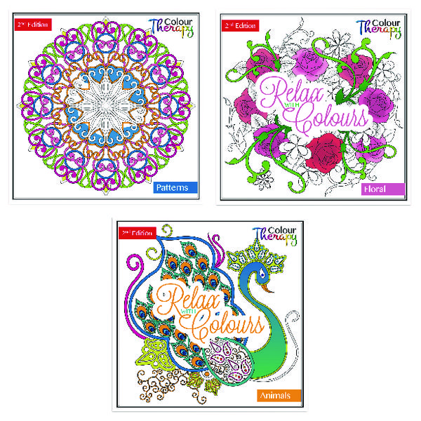Unspecified Tallon Adult Colouring Book Series 2 (12 Pack) 6846