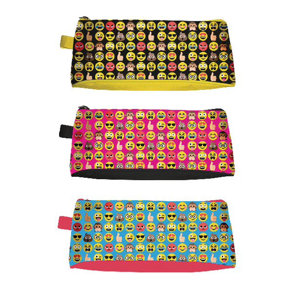 Unspecified Tallon Funny Faces Pencil Case (12 Pack) 6806/48