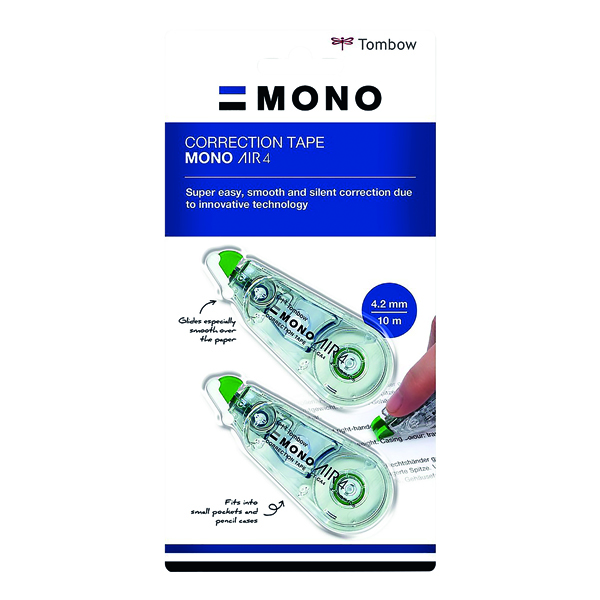Correction Tape Tombow MONO air4 Correction Tape 4.2mm x 10m (20 Pack) CT-CA4-20