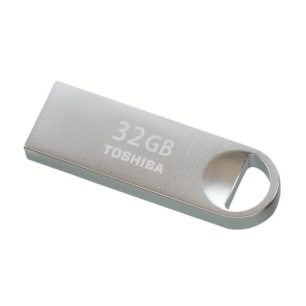 Toshiba TransMemory U401 USB Flash Drive 32GB USB 2.0 Metal THN-U401S0320E4