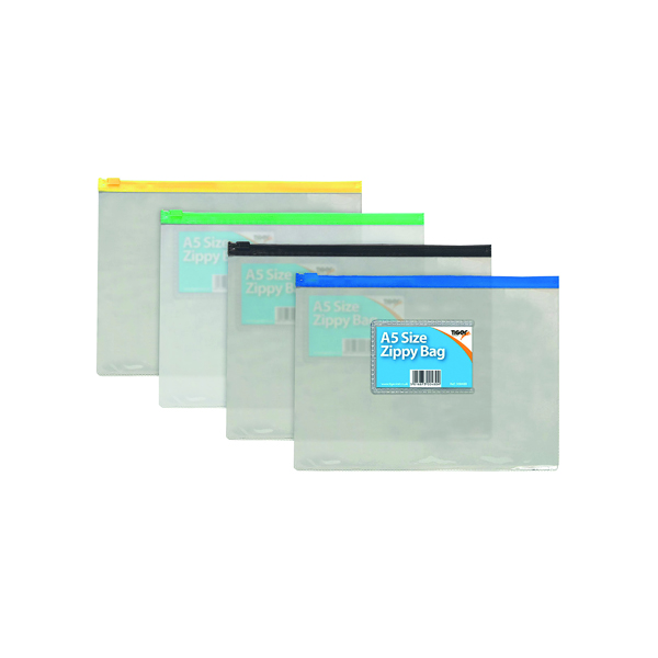 Other Sizes Sundry Zip Bag A5 (12 Pack) 300480