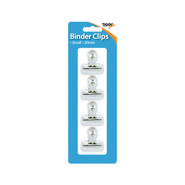 Tiger Small Letter Clips 30mm (48 Pack) 302006