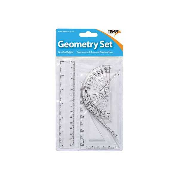 Small 4 Piece Geometry Set (12 Pack) 300920