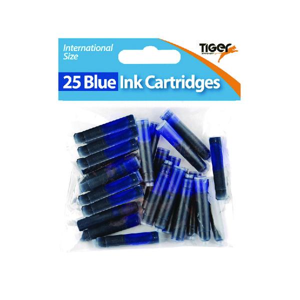 Tiger Blue Ink Cartridges, (300 Pack) 301090