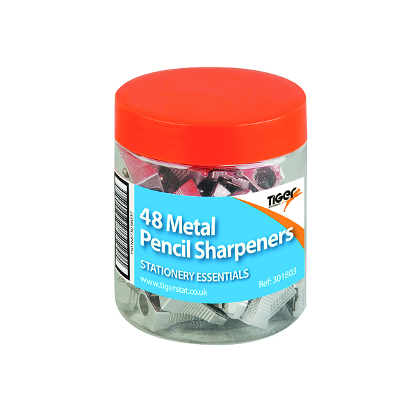 Unspecified Metal Single Hole Pencil Sharpeners (48 Pack) 301803