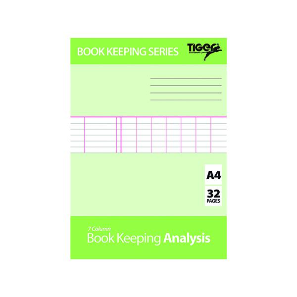 Book Keeping Book Analysis (6 Pack) 302298