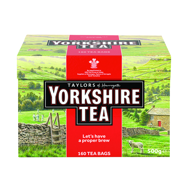 Tea Yorkshire Tea Bags (160 Pack) 1029