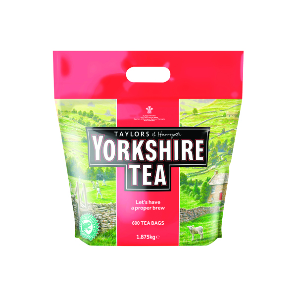 Yorkshire Tea Tea Bag (600 Pack) 5006