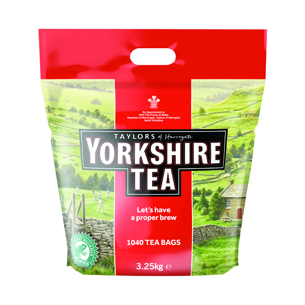 Yorkshire Tea Cup Tea Bag (1040 Pack) 5007