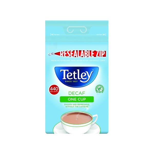 Tea Tetley One Cup Decaffeinated Tea Bags (440 Pack) 1800A
