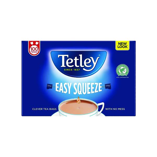 Tea Tetley Drawstring Tea Bag (100 Pack) 1050A