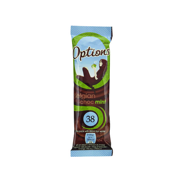 Hot Chocolate Options Hot Chocolate Mint 11g (30 Pack) W550093