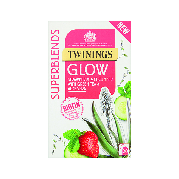 Cold Drinks Twinings SuperBlends Glow HT (20 Pack) F14954
