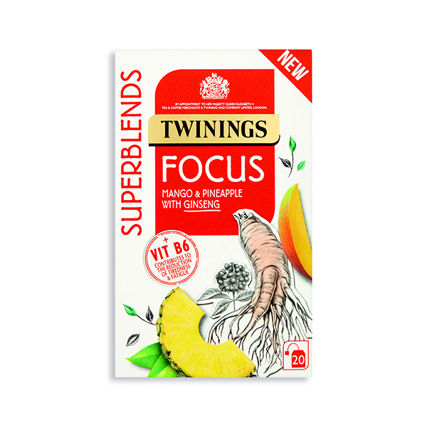 Cold Drinks Twinings SuperBlends Focus HT (20 Pack) F15170