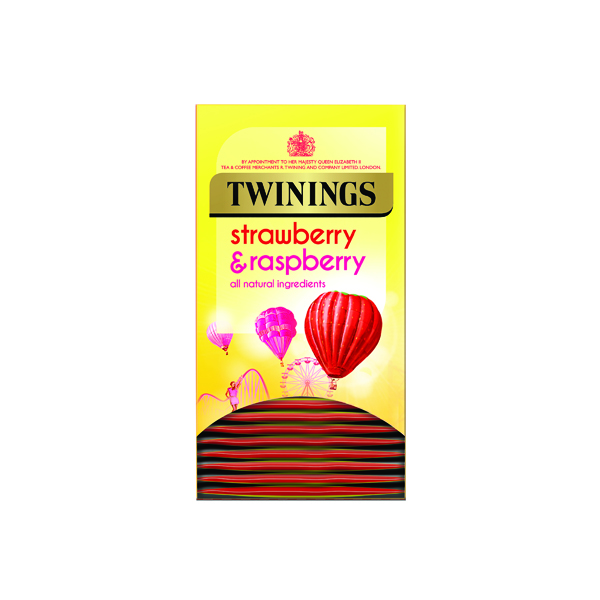 Twinings Strawberry and Raspberry (20 Pack) F14906