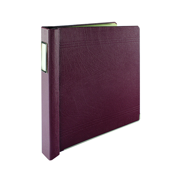 Accounts Binders & Refills Rexel Crown Maroon 3C Binder 75003