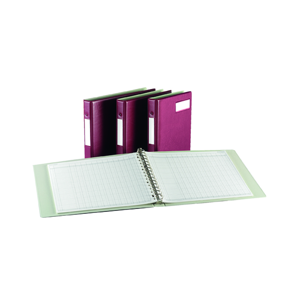 Analysis Books Rexel Variform V4 Multi-Ring Binder Maroon 75149