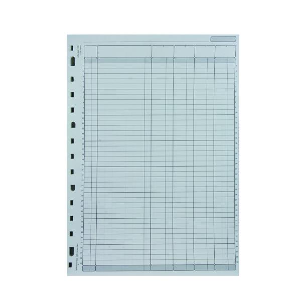 Rexel Variform V4 4-Column Cash Refill (75 Pack) 75930
