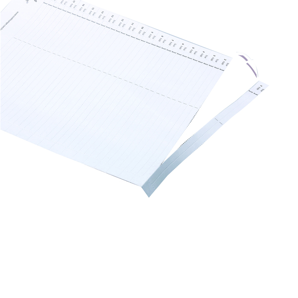 Rexel Crystalfile Lateral 275 Tab Inserts White (50 Pack) 78370