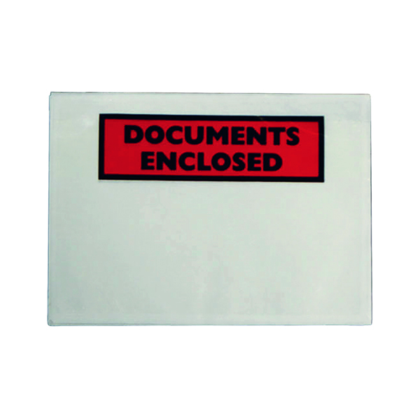 GoSecure Document Envelopes Documents Enclosed Self Adhesive DL (1000 Pack) 4302004