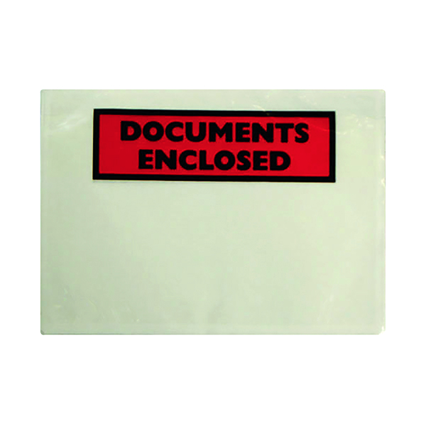 Document Enclosed Wallets GoSecure Document Envelopes Document Enclosed Self Adhesive A5 (1000 Pack) 4302003