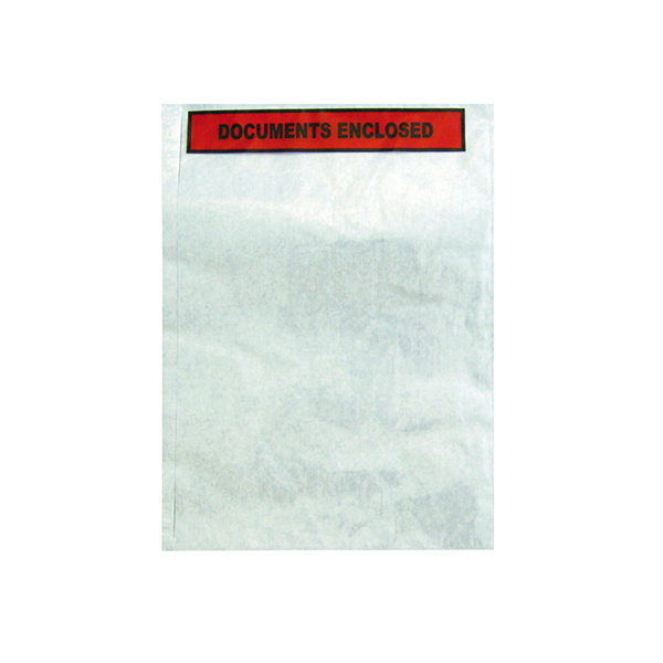 Documents Enclosed GoSecure Document Envelopes Documents Enclosed Self Adhesive A4 (500 Pack) 4301004