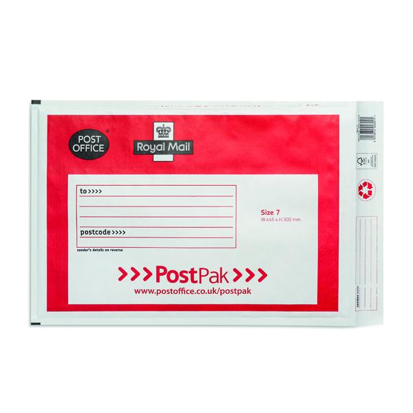 Bubble Post Office Postpak Size 7 Bubble Envelopes (40 Pack) 41613