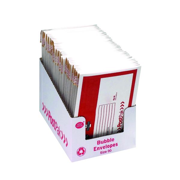 Bubble PostPak Size 00 Bubble Envelope (40 Pack) 41628