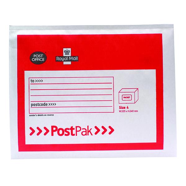 Bubble Postpak Size 4 Bubble Envelope (40 Pack) 41632
