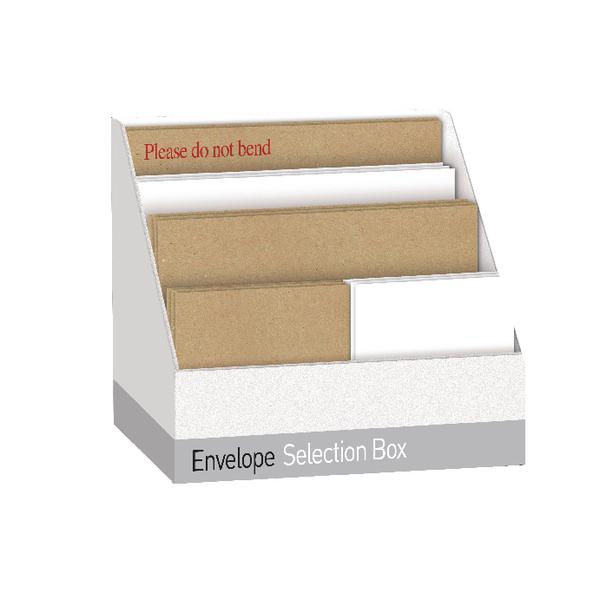 Selection Box Assorted White/Manilla Envelope UB70062