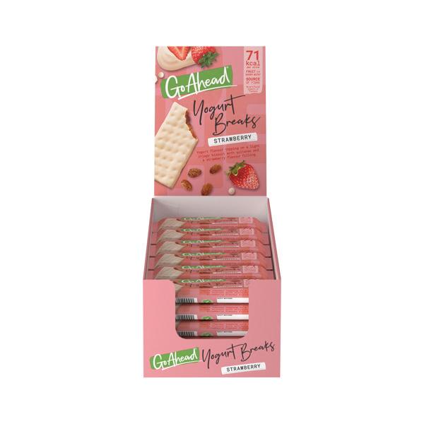 Go Ahead Strawberry Yoghurt Break (24 Pack) 11300
