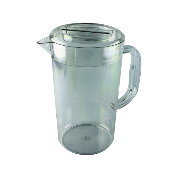 Flasks/Urns Clear Polycarbonate 1.4 Litre Jug With Lid PC64CW
